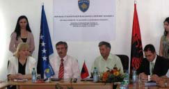 Memorandum of Understanding between the Kosovo Seismological Institute and the Institute of Geosciences